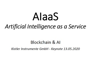 Keynote about AIaaS - German only